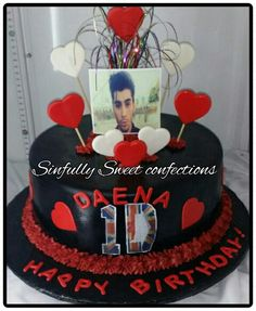 One Direction Theme Cake