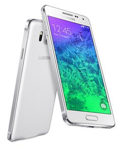 #Samsung #GalaxyAlpha with 6.7mm metal frame, 4.7-inch HD display goes official.