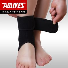 Sprain of ankle protection sport basketball football ankle brace  protector  ankle supports OK fabric  nylon rubber one piece