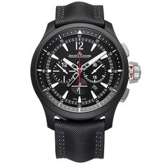 Master Compressor Chronograph Black Dial Men's Watch