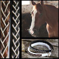 Armband med hästtagel