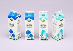 Arla Milk by Eili-Kaija Kuusniemi — Agent Pekka Pentagon Design, Milk Packaging, Celebrity Diets, Stella Artois, Chocolate Brands, Sweet Wine, Johnson And Johnson, Natural Cosmetics, Packaging Design Inspiration