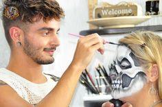 Victor Nogueira, o universo da maquiagem de efeitos especiais.