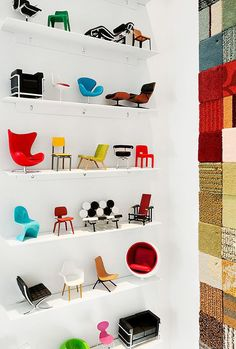 Cadeiras em miniatura!! www.diycore.com.br