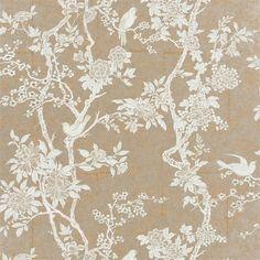 Dining Room Wallpaper? | marlowe floral - sterling wallpaper | Ralph Lauren