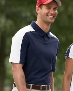 The fancy design and beautiful color contrast of the Adidas A43 Men's ClimaLite Colorblock Polo makes it a classic sport shirt, not to mention its newest ClimaLite.