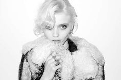 Candid Monochrome Captures - An Intimate Shoot of Abbey Lee Kershaw by Terry Richardson (GALLERY)