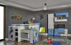 Buy affordable & unique furniture in Concept Muebles. We offer a wide assortment online : wall unit, wardrobes, sofas, tv stand, bedroom sets . Cheap Nursery Furniture Sets, Modern Kids Furniture, Kids Bedroom Furniture, Furniture Sale, Children Furniture, Baby Room Set, Kids Bedroom Sets, Kids Room, Table Chaise
