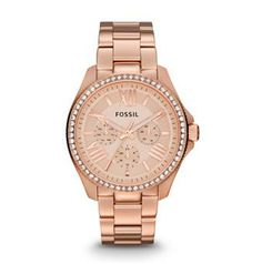 Fossil cecile rose gold. Beautiful!