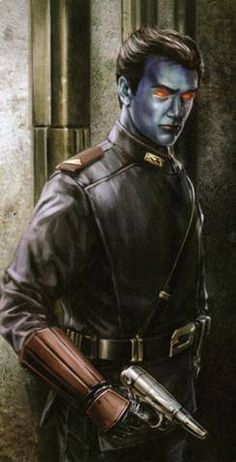 Star Wars Junkies SWRG: Legacy Era Campaign Guide Chiss bodyguard by Chris Trevas