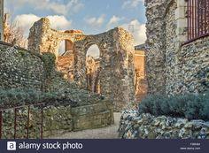 Abbey Ruins Reading Berkshire UK Stock Photo
