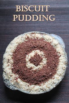No Bake Biscuit Pudding Recipe This is a simple and delicious pudding.I have already made and shared a no bake biscuit cake recipe . This is a pudding version. Eggless Pudding Recipe, Easy Pudding Recipes, Eggless Recipes, Eggless Baking, Pudding Desserts, Easy Indian Pudding Recipe, Eggless Desserts, Paratha Recipes, Custard Recipes