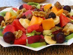 Ensalada de frutas variadas