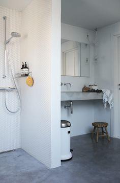 Beton er super flot. Kan man bruge det sammen med marmor?