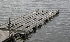 PRODUCTS   dockonarock Floating Boat Docks, Saint Lawrence River, Bridge Construction, Decking Material, Stair Landing, Beams, Cottage, Rock, Pontoon Dock
