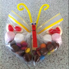 Lolly bags Alison, these are cute and easy, have done before