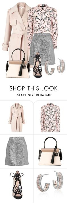 """""""Pink diamond"""" by glamheartcafe ❤ liked on Polyvore featuring Miss Selfridge, Topshop, Tod's, Nicholas Kirkwood and Blue Nile"""