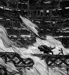 Ian Doescher that reimagines George Lucas' The Empire Strikes Back in the style of William Shakespeare. The book is called The Empire Striketh Back, and the artwork is done in a beautiful black-and-white Elizabethan-style.