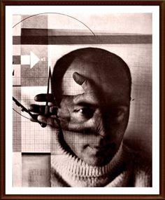 El Lissitzky, Die-Kunstismen, 1924 self portrait, Arrow Image, Stencil, Double Image, Modern Photographers, Great Works Of Art, Bauhaus, Cleveland Museum Of Art, Objet D'art, Creative Portraits