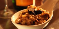 Champagne Risotto with Black Garlic, Roasted Chestnuts, Porcini Mushrooms - LifeStyle FOOD