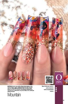 26 Mountain Julio Carrillo / Proeducator Organic® Nails Diseño publicado en la revista Lo Mejor No. 26 de Organic® Nails. http://youtu.be/jPjsHwtCQBs?list=PLVzihPafxEEwjNT0GraEhIaapZy8j2fXW