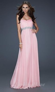 strapless sleeveless dress <3