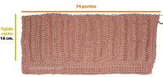 boina tejiendoperu.com Knitting Stitches, Lily, Beanies, Moon Art, Crochet Hearts, Crochet Stitches, Long Scarf, Owl Bird, Good Ideas