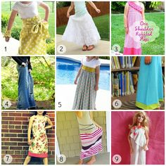 41 DIY tutorials for Maxi dresses, skirts, also little girls'.  Including recycled jean skirt idea I was looking for.  Those I browsed through look easy! Dress Tutorials, Sewing Tutorials, Sewing Hacks, Sewing Crafts, Sewing Ideas, Sewing Projects, Sewing Patterns, Dungaree Skirt, Skirt Tutorial