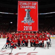 625d52f8a0a The Washington Capitals raises their Stanley Cup Banner in honor of their  Championship Run last season in their opening game with the Boston Bruins.
