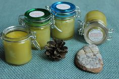 Eczema Relief Natural Herbal Salve with oil by HelloNaturalShop