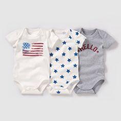 Confezione da 3 body a maniche corte da 0 mesi a 3 anni R baby   La Redoute Mobile