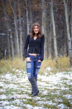Fashion: Aldo boots, Aritizia jeans, TNA sweater, Grace & Lavender necklace