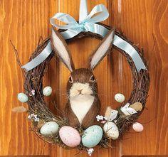 easter wreath idea