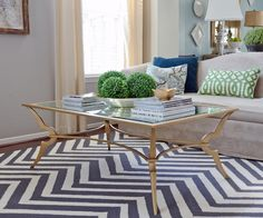 This coffee table will bring class to this room