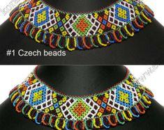 Granos de cristal hechos a mano popular ucraniano tradicional