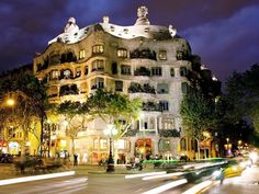 Casa Mila in Barcelona, photo accompanying Free Things to Do in Barcelona, National Geographic 7-2014
