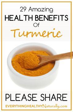29 Amazing Health Benefits of Turmeric