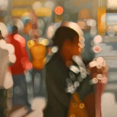 Oil painting. Philip Barlow. thumbnail for Crossing
