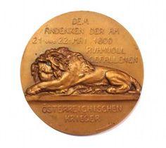 Medaille Schlacht von Aspern