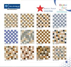 Millennium Tiles 300x300 Digital Floor Tile Series Ceramic Floor Tiles, Tile Floor, Tile Manufacturers, Home Improvement, Mosaic, Tiling, Flooring, Ceramics, Contemporary