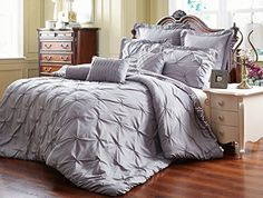 Unique Home 8 Piece Reversible Pinch Pleat Comforter Set ... https://www.amazon.com/dp/B01M0N1K7E/ref=cm_sw_r_pi_dp_x_xzsJybXZEQ7PV