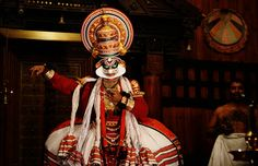 Kathakali show in Kerala