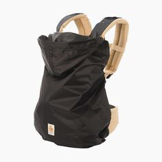 """<div class=""""default-content""""> <p>The Rain Cover easily snaps on to any Ergobaby Carrier to provide protection from wind and rain.</p> </div> <div class=""""clean-content""""> <p> On those wet & windy days, keep baby dry & protected on your everyday adventures. </p> <ul> <li>Attaches to any Ergobaby carrier</li> <li>Keeps baby dry & prot..."""