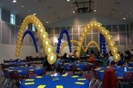 Blue Gold Banquet idea
