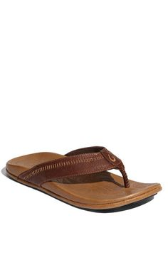 OluKai 'Hiapo' Flip Flop (Men) available at #Nordstrom