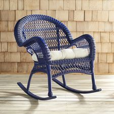Santa Barbara Navy Rocking Chair