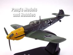Bf-109 (Bf-109E-4) 1/72 Scale Diecast Metal Model by Oxford