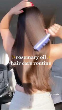 Hair Growing Tips, Grow Hair, Hair Tips Video, Diy Hair Mask, Healthy Hair Tips, Hair Remedies, Hair Care Routine, Aesthetic Hair, Hair Health
