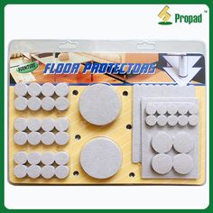 Self Stick Furniture Protector Heavy Duty Felt Pads F8M118 Features: 1.To  Protect The