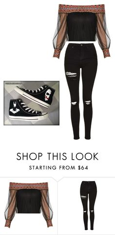 """""""at home wear never out and about because i'm insecure"""" by serenwohlrab on Polyvore featuring Topshop and Converse"""